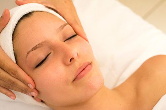 Massage therapy woman